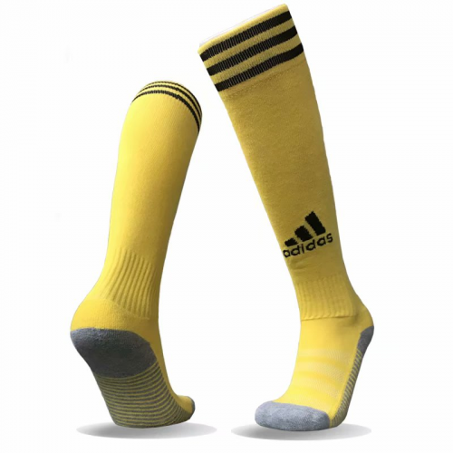 Adidas Copa Zone Cushion Soccer Socks-Yellow