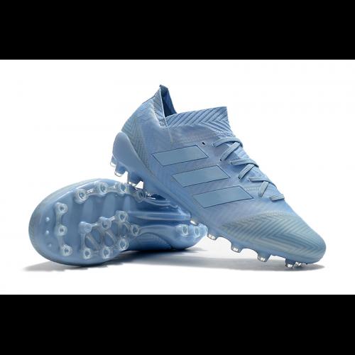 AD X Nemeziz Messi 18.1 AG Soccer Cleats-Light Blue