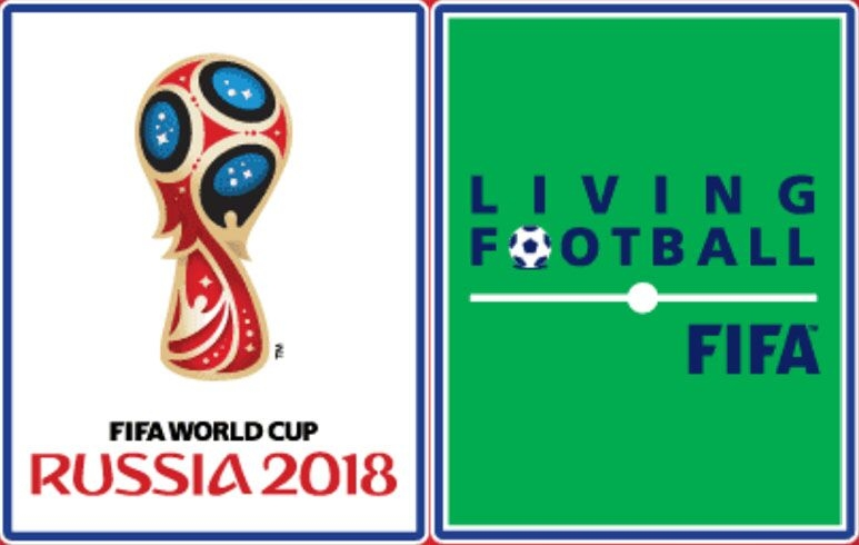 2018 Russia World Cup Badge