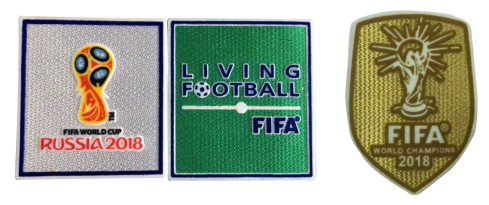 2018 Russia World Cup Badges&2018Euro Cup Champions