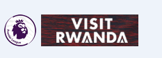 Premier League & Visit Rwanda Badge white--$6