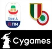 18/19 Italian Serie A & Scudetto & Coppa Italia Badge&Cygames logo