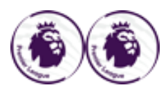 Premier League Badge*2--$6