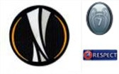 UEFA Europa Leauge&Honor 7 Cups&Respect Badges