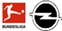 17/18 German Bundesliga Badge&Opel Sleeve Sponsor--$6