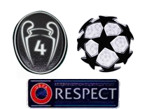 UCL&Honor 4 Cups&Respect Badges--$7