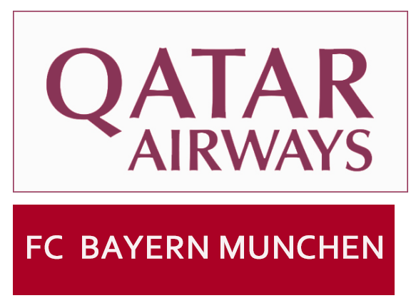 Qatar Airways badge&FC BAYERN MUNCHEN $0 Free