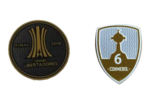 2018 Copa Libertadores & Honor 6 Cups Badge--$6