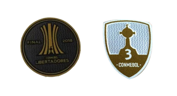 2018 Copa Libertadores &Honor 3 Cups Badge--$6