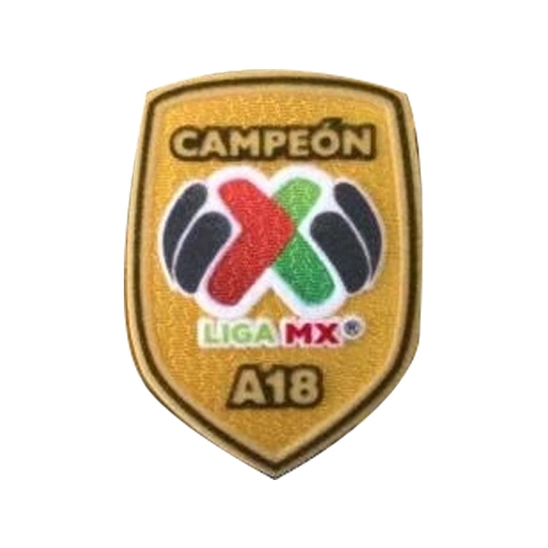 Liga MX Champion A18 Badge--$5