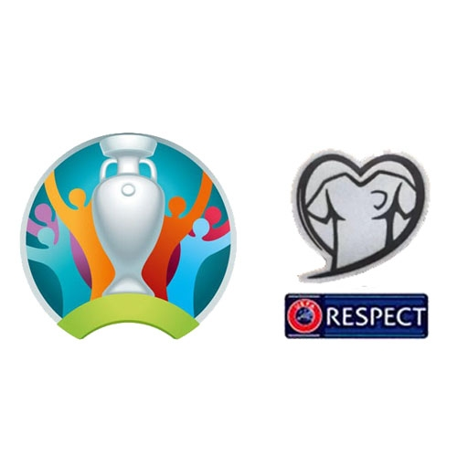 19-20 UEFA EURO Qualifiers & Respect Badges--$7