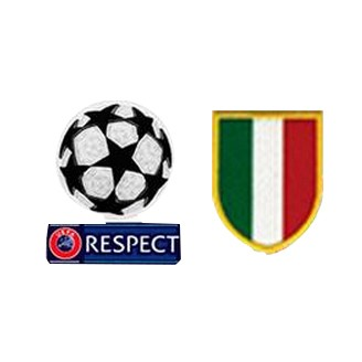 UCL&Respect Badges&Scudetto Italia Badge--$6