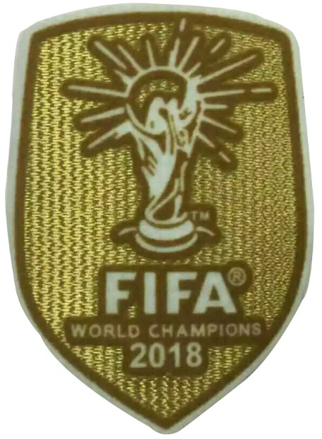 2018 World Cup Champion Badge--$5