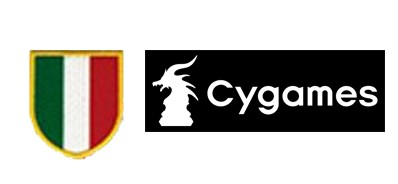 Scudetto Italia Badge & Cygames logo