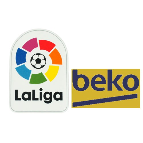 Spainish La Liga&Beko Badges yellow--$5