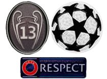 UCL&Honor 13 Cups&Respect Badges--$7