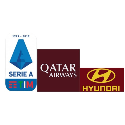 Italian Serie A &Qatar Airways(White)&Hyundai(Yellow)Sponsor--$5