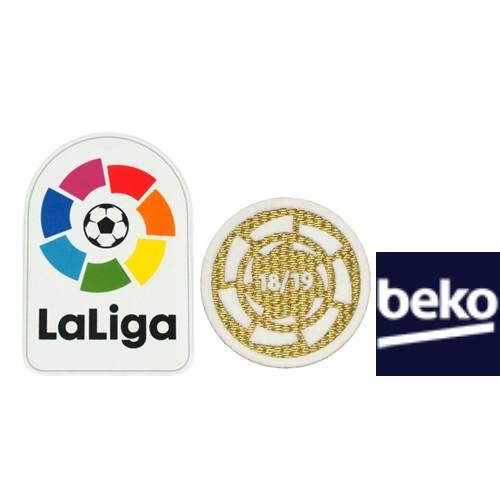 Spainish La Liga&18-19 La Liga Champion&Beko(White)Badges--$6