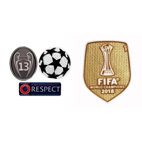 UCL&Honor 13 Cups&Respect Badges&2018 Club World Cup Badges--$8