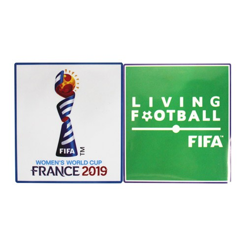 2019 Women's World Cup & Living Football Badges--$6