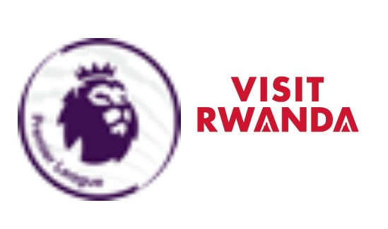 Premier League & Visit Rwanda Badge Red ---$5