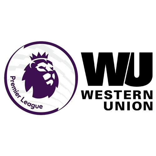 Premier League & Western Union Badge Black--$5
