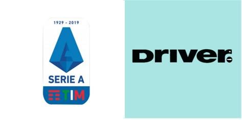 19/20 Italian Serie A & Driver Sponsor(Black)Badge--$5