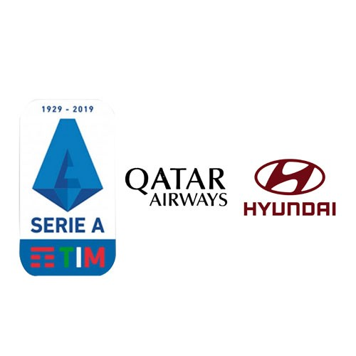 19/20 Italian Serie A &Oatar Airways(Black)&Hyundri(Red)Sponsor--$5