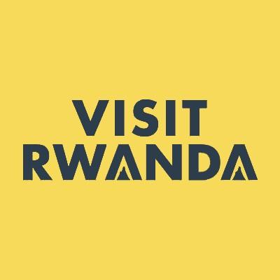 Visit Rwanda Badge Navy price--$0