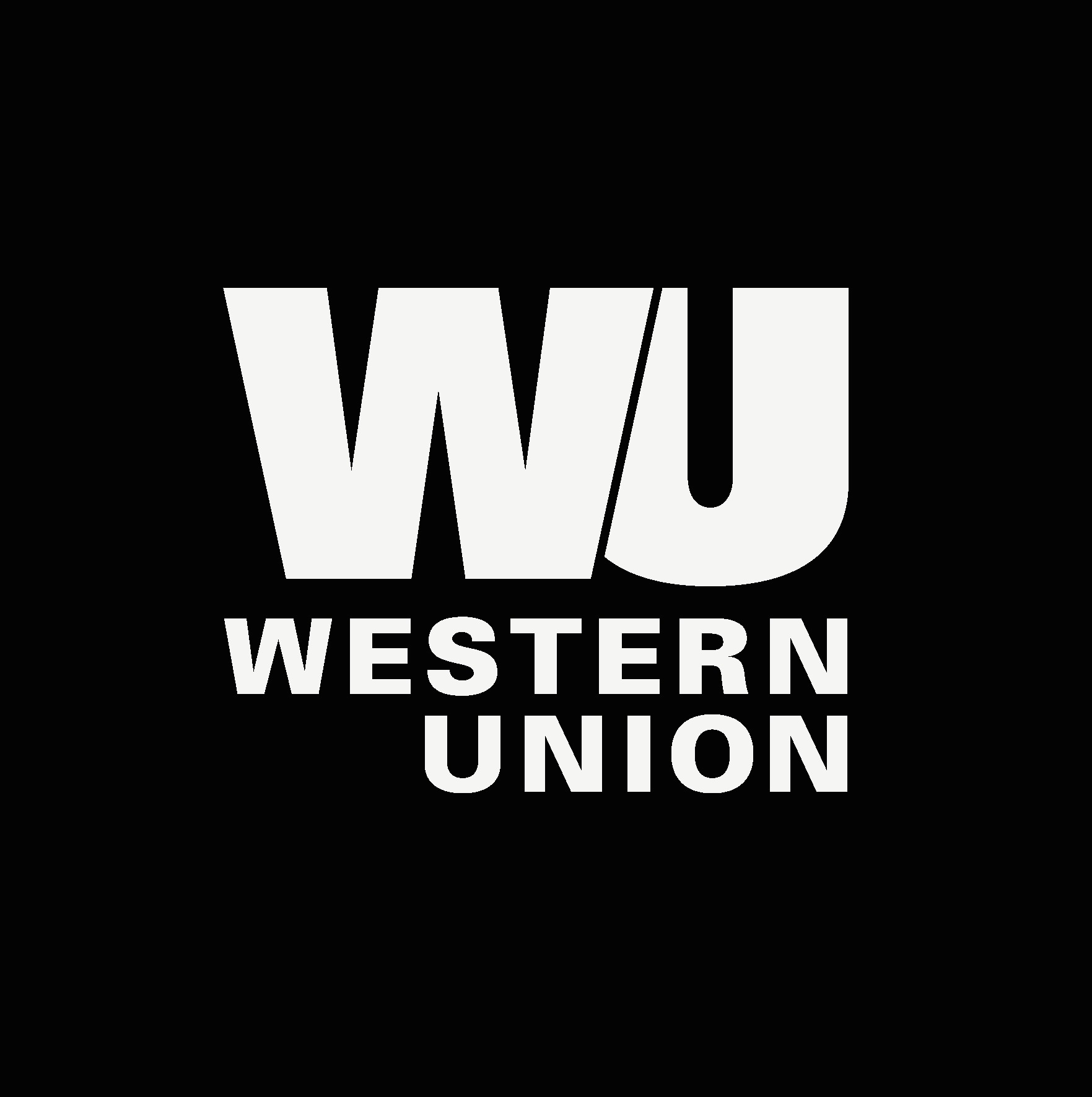 Western Union Badge White price--$0