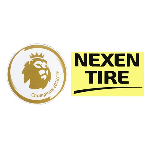 18/19 Premier League Champion &Nexen Tire Sponsor(Black)Badge--$5
