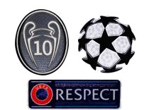 UCL&Honor 10 Cups&Respect Badges-$7