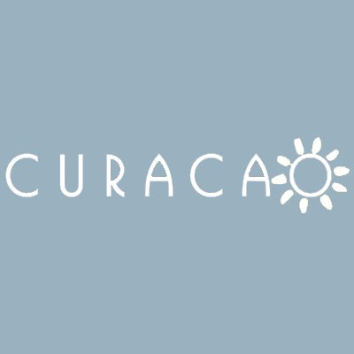 CURACAO Badge White