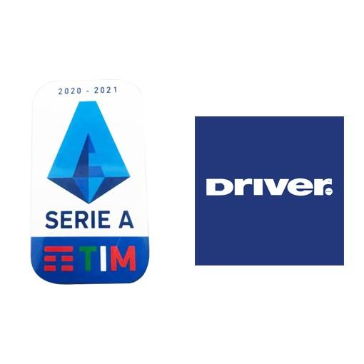 20/21 Italian Serie A & Driver Sponsor(White)Badge