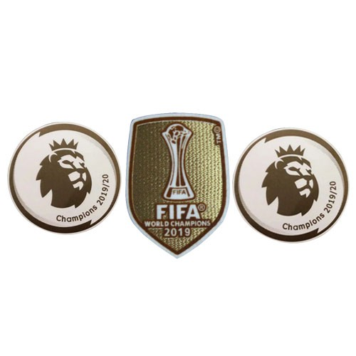 19/20 Premier League Champion *2 & 2019 Club World Cup Badges