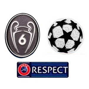 UCL & Honor 6 Cups & Respect Badges