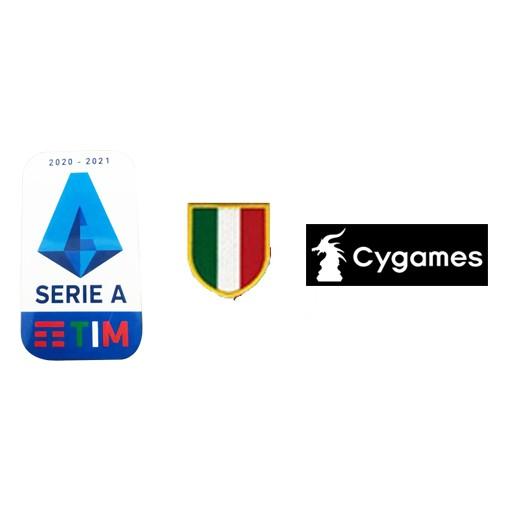 20/21 Italian Serie A & Scudetto Italia Badge & Cygames logo-6