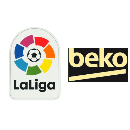 Spainish La Liga & Beko Badges(Golden)