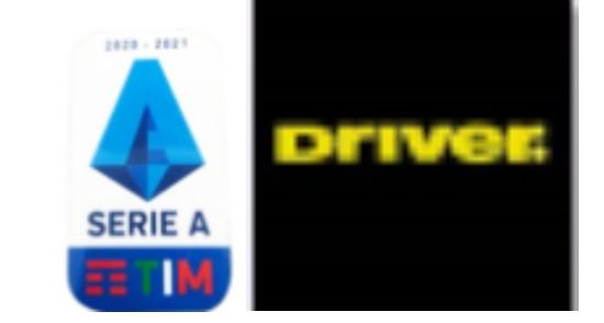 20/21 Italian Serie A & Driver Sponsor(Yellow)Badg