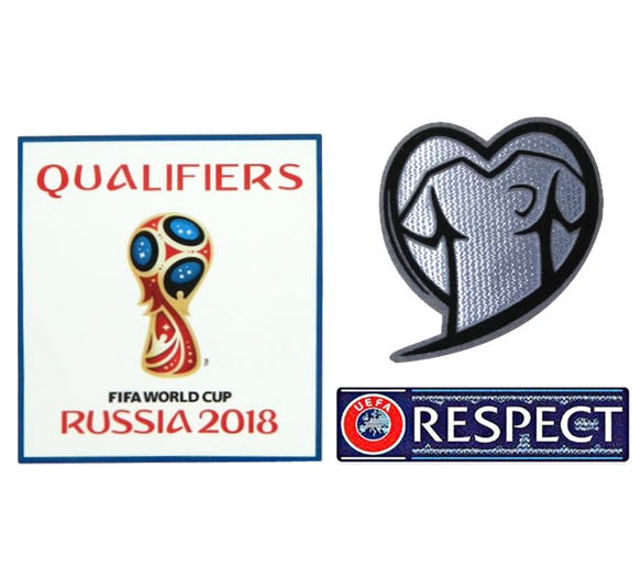 2018 Russia World Cup Qualifiers&Respect Badges