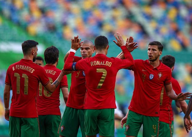 All signs show defending! Portugal's new golden generation sets sail