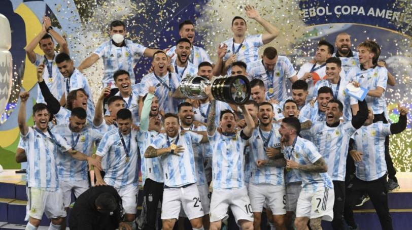 Argentina wins, Messi dream came true