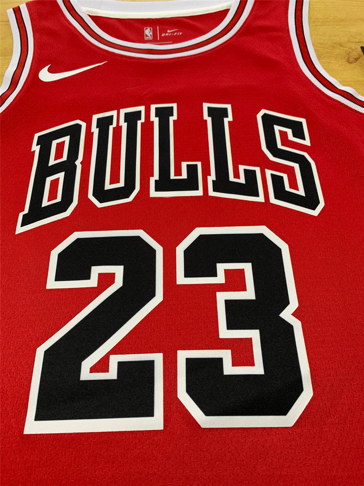 Men's Chicago Bulls Jersey Michael Jordan #23 Swingman Jersey Red NBA Shirt