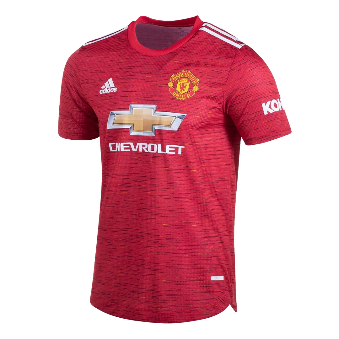 20/21 Manchester United Home Red Jerseys Shirt(Player Version)