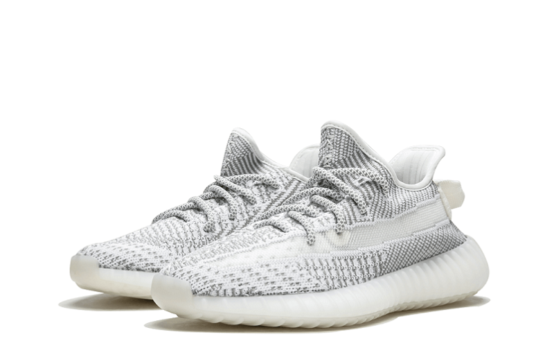 Adidas Yeezy 350 V2 Static Non Reflective Cleat-Gray