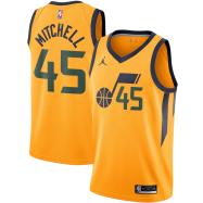 Utah Jazz Jersey Donovan Mitchell #45 NBA Jersey 2020/21