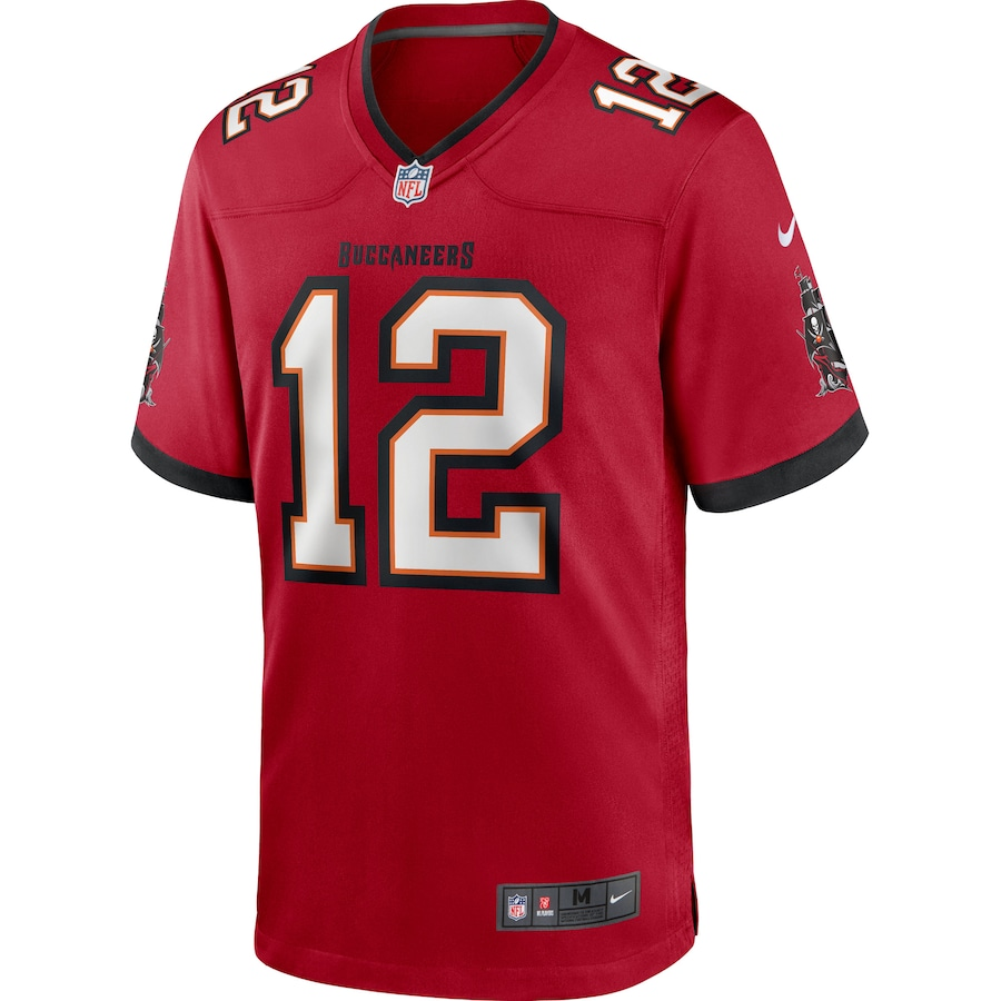 Tom Brady Tampa Bay Buccaneers Game Jersey - Red