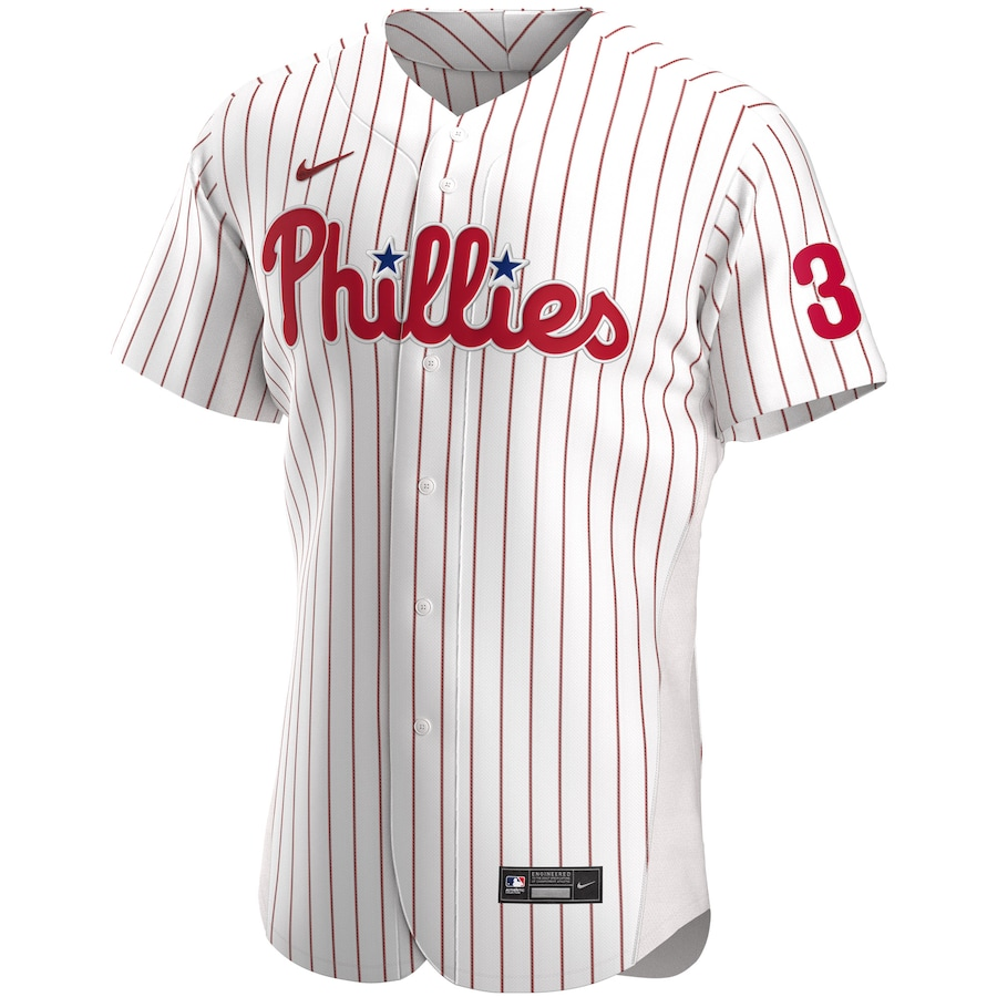 Bryce Harper Philadelphia Phillies Home 2020 Authentic Player Jersey - White