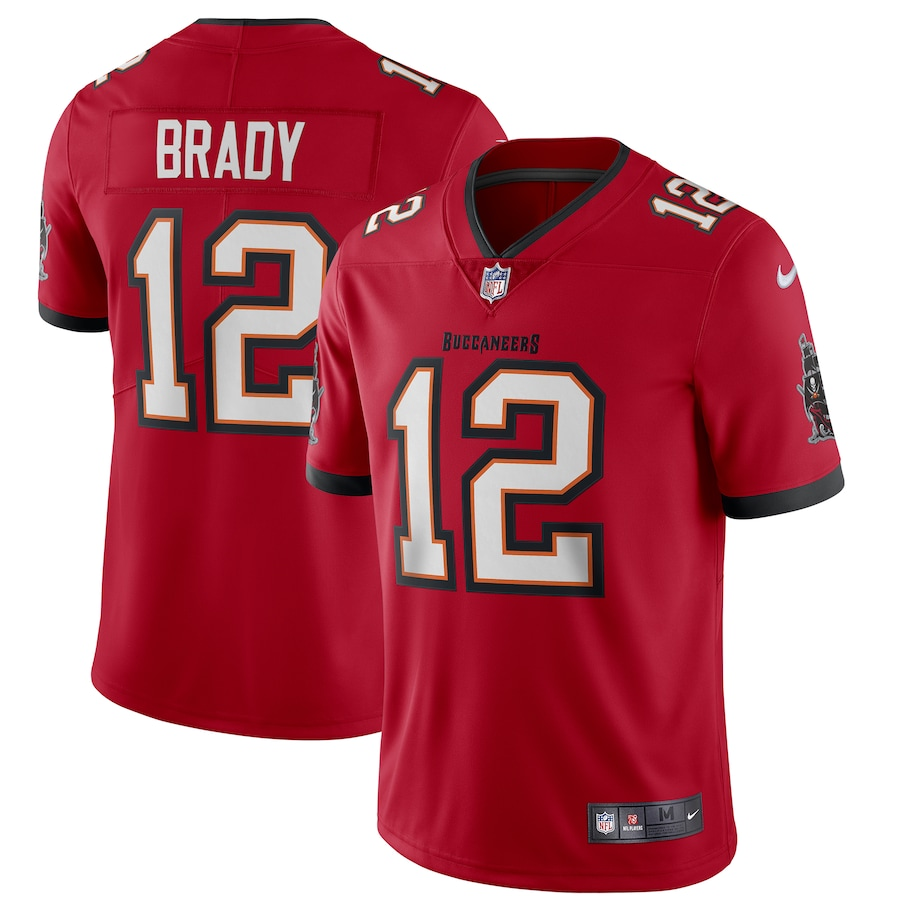 Tom Brady Tampa Bay Buccaneers Vapor Limited Jersey - Red