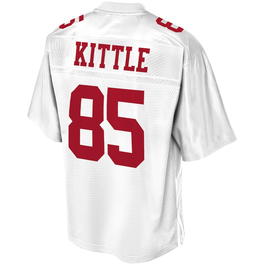 George Kittle San Francisco 49ers NFL Pro Line Player Jersey - White